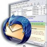Установка да набор почтовой программы Mozilla Thunderbird