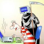 Синий монитор — ошибка или пора его выкидывать?