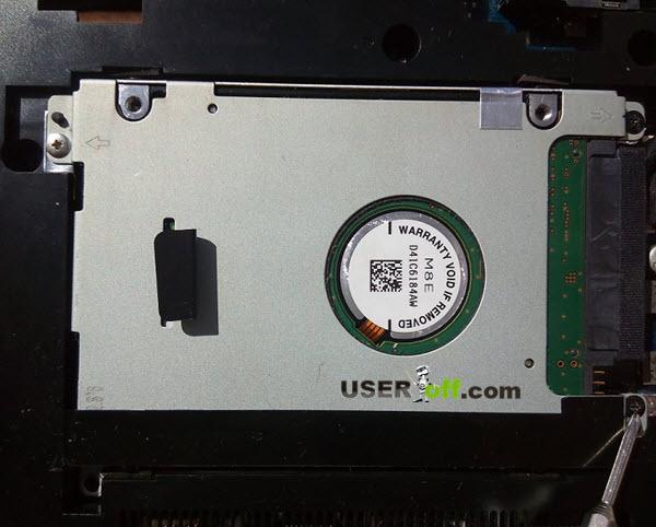 Жесткий диск в ноутбуке
